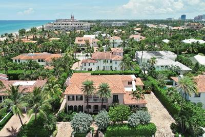 Palm Beach FL Single Family Home For Sale: $7,550,000