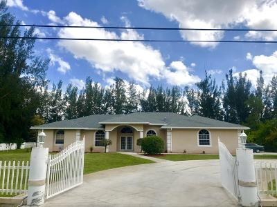 Loxahatchee Single Family Home For Sale: 17564 60th Street
