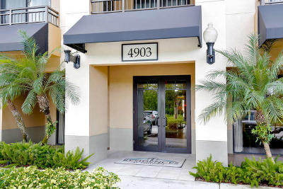 Palm Beach Gardens Condo For Sale: 4903 Midtown Lane #3418