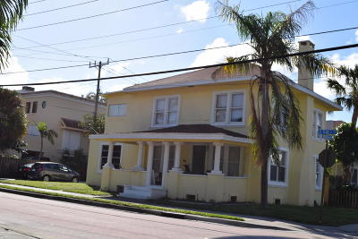West Palm Beach Multi Family Home For Sale: 1801 S Olive Avenue