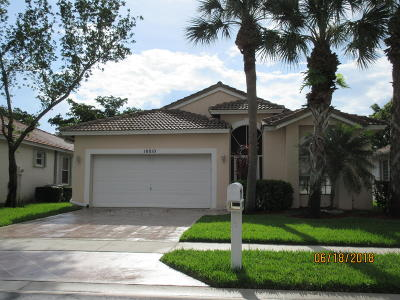 Boynton Beach Single Family Home Contingent: 10810 Madison Drive