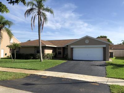 Davie Single Family Home Contingent: 14721 Kirsten Court
