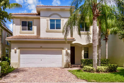 Riviera Beach Single Family Home Contingent: 1259 Rosegate Boulevard