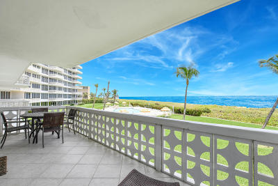 Delray Beach Condo For Sale: 1225 S Ocean Boulevard #206