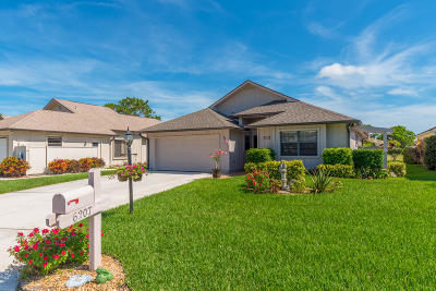 Hobe Sound Single Family Home For Sale: 6207 SE Ames Way