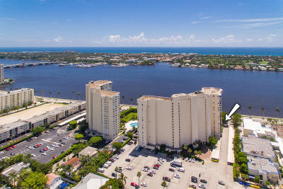 West Palm Beach Condo For Sale: 1801 S Flagler Drive #301