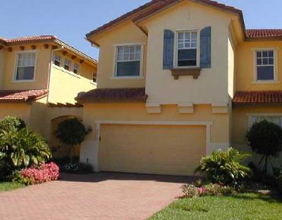 Coral Springs Townhouse For Sale: 5729 NW 119th Terrace #5729