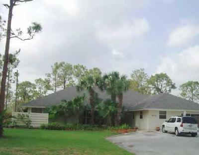 Loxahatchee Single Family Home For Sale: 16112 E Preakness Drive