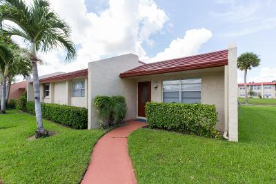 West Palm Beach Single Family Home For Sale: 158 Lake Anne Drive