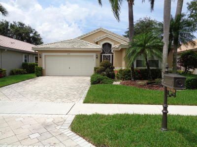 Boynton Beach Rental For Rent: 6749 Sun River Road