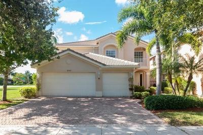 Boynton Beach Single Family Home For Sale: 8255 Emerald Winds Circle