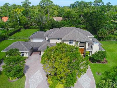 Palm Beach County Single Family Home For Sale: 14748 Horseshoe Trace