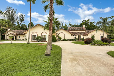 West Palm Beach Single Family Home Contingent: 7405 Wilson Road