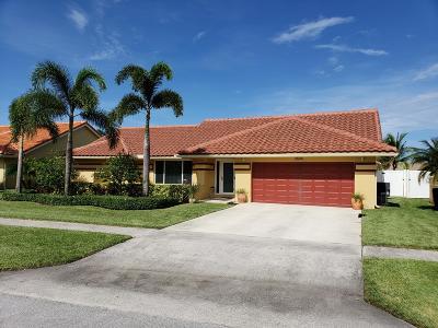 Boynton Beach Single Family Home For Sale: 9696 Majestic Way