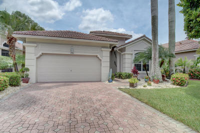 Boynton Beach Single Family Home For Sale: 7091 Southport Drive