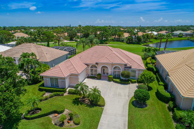 Palm City Single Family Home For Sale: 1812 SW Foxpoint Trail Trail