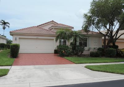 Boynton Beach Single Family Home For Sale: 12879 Coral Lakes Drive