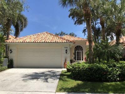 West Palm Beach Single Family Home For Sale: 7028 Fish Creek Lane