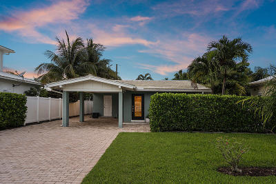 Delray Beach Single Family Home For Sale: 101 NE 11th Street
