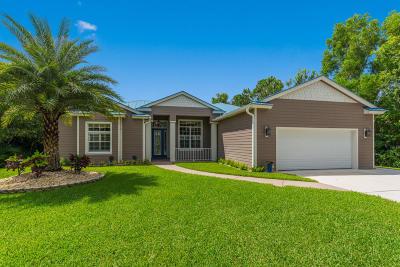 Palm City Single Family Home For Sale: 3750 SW Canoe Creek Terrace