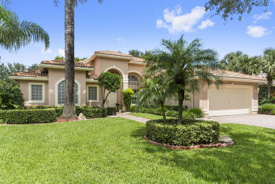 Delray Beach Single Family Home For Sale: 13407 Barcelona Lake Circle