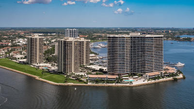 North Palm Beach Condo For Sale: 115 Lakeshore Drive #347