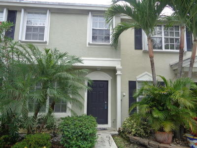 Delray Beach Townhouse For Sale: 843 Kokomo Key Lane