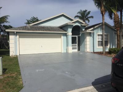 Greenacres FL Single Family Home For Sale: $287,900