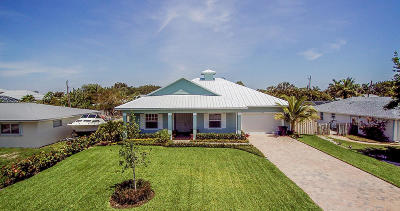 Stuart Single Family Home For Sale: 4370 SE Bayshore Terrace