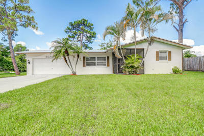 Palm City Single Family Home For Sale: 2530 SW Mapp Road