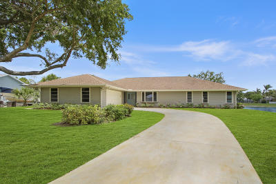Jupiter Single Family Home For Sale: 18270 Little Oaks Drive