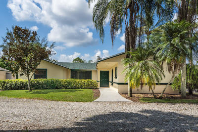 West Palm Beach Single Family Home For Sale: 11096 60th Street