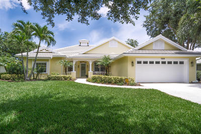 Hobe Sound Single Family Home For Sale: 5669 SE Forest Glade Trail
