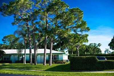 Delray Beach Single Family Home For Sale: 5131 Petal Place #D