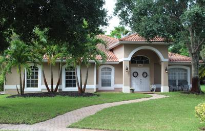 Palm City Single Family Home For Sale: 5026 SW Melrose Court