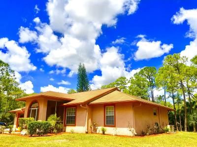 Loxahatchee Single Family Home Contingent: 16265 66th Court