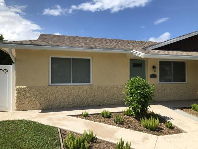 Palm Beach Gardens Single Family Home Contingent: 4613 Brady Lane