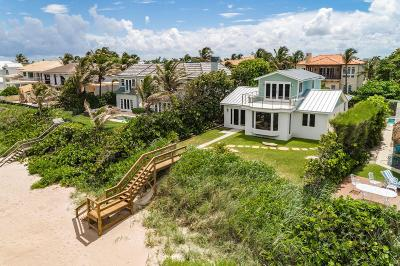 Gulf Stream, Ocean Ridge Single Family Home For Sale: 6059 Old Ocean Boulevard