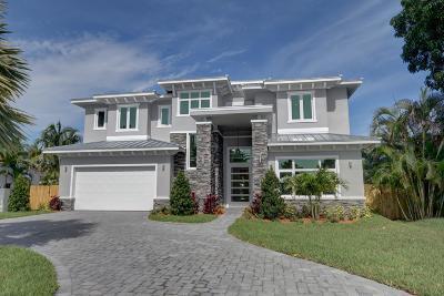 Delray Beach Single Family Home For Sale: 1426 Highland Lane