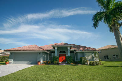 Lake Worth Single Family Home For Sale: 6483 Blue Bay Circle