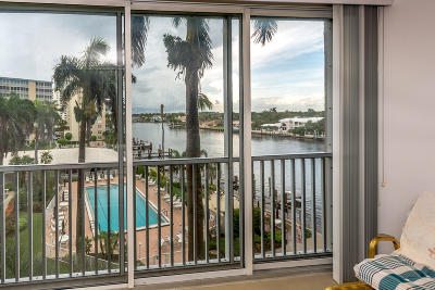 Highland Beach Condo For Sale: 3212 S Ocean Boulevard #504-A