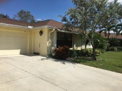 Boynton Beach Single Family Home For Sale: 4375 Cedar Tree Place #B