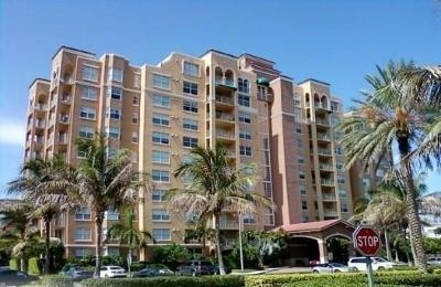 Highland Beach Condo For Sale: 3594 S Ocean Boulevard #206