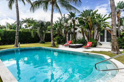 Palm Beach FL Single Family Home For Sale: $3,995,000