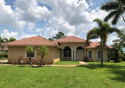 Fort Pierce Single Family Home Contingent: 2631 Conifer Drive