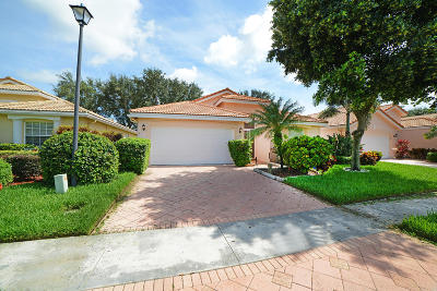 Boynton Beach Single Family Home For Sale: 7411 Modena Drive