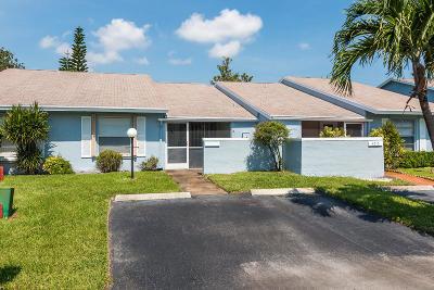 Lake Worth Single Family Home Contingent: 4225 Lucerne Villas Lane