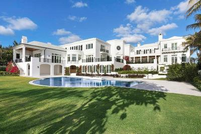 Palm Beach Single Family Home For Sale: 1900 S Ocean Boulevard