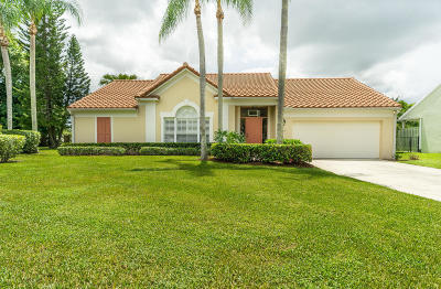 Palm Beach Gardens Single Family Home For Sale: 1014 Woodfield Circle
