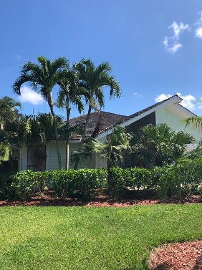 Jupiter Single Family Home For Sale: 6086 Adams Street